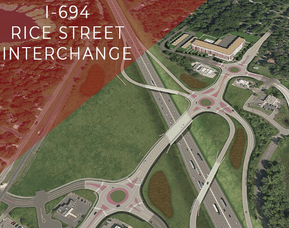 I-694 Rice Street Interchange