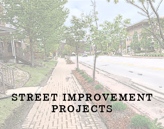 Street Improvement Projects Spotlight Image