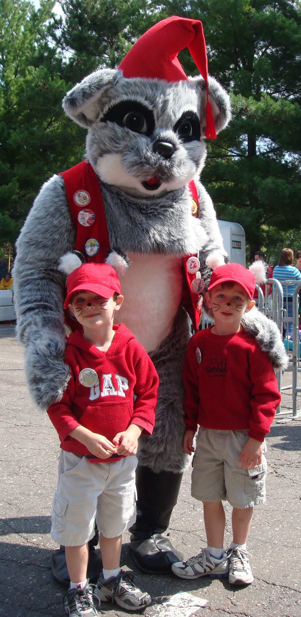 Canadian Days Mascott